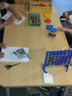 Bloques lógicos, encajables, juegos de mesa